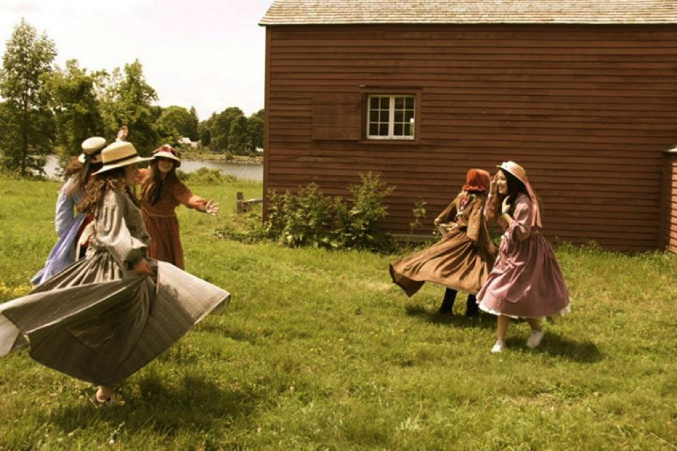 Kids experience Canada during the 1800s at the historic Upper Canada Village