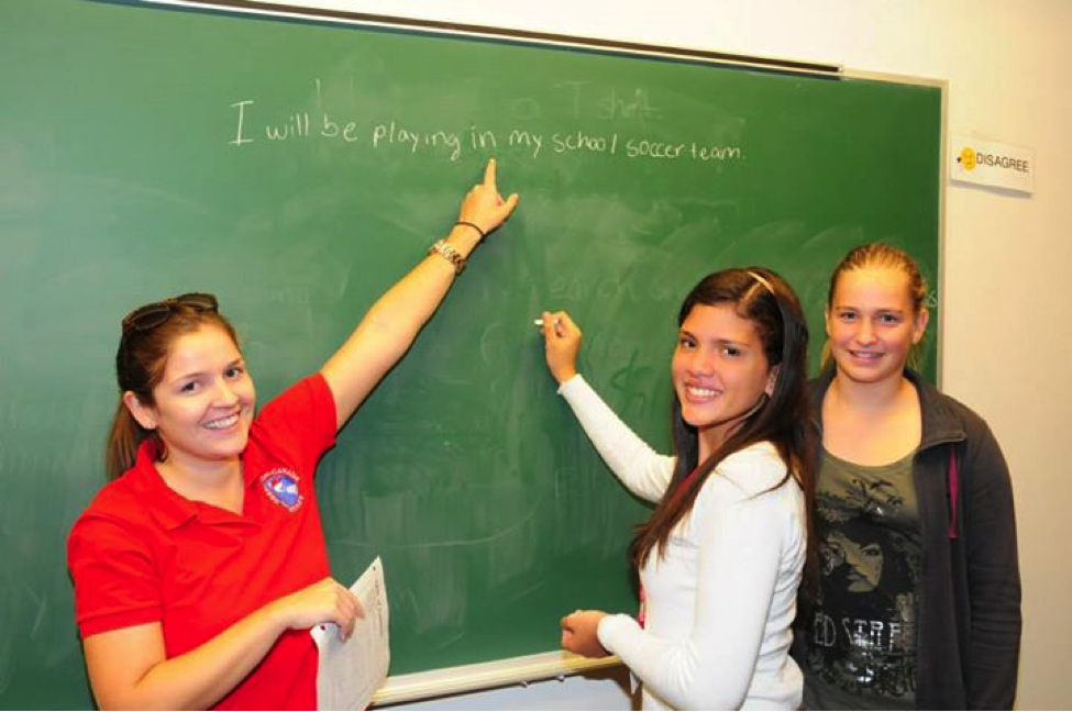 Destination Canada instructors adapt course lessons to match student interests