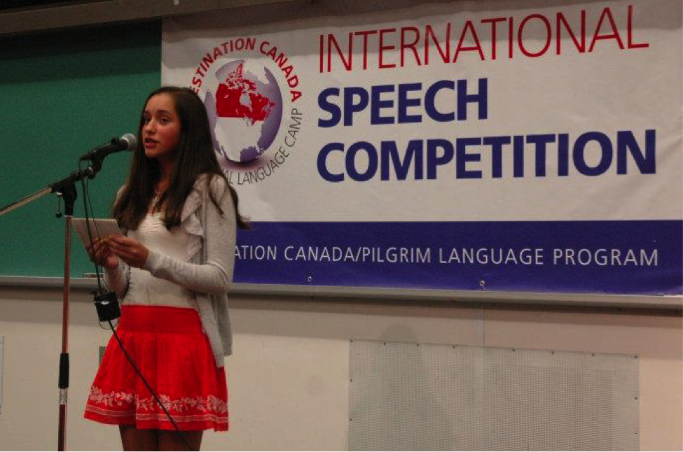 How Kids Practice Public Speaking at Destination Canada's English Summer Camp