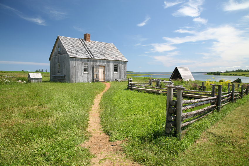 Life was more comfortable for pioneers after they had settled into their new home