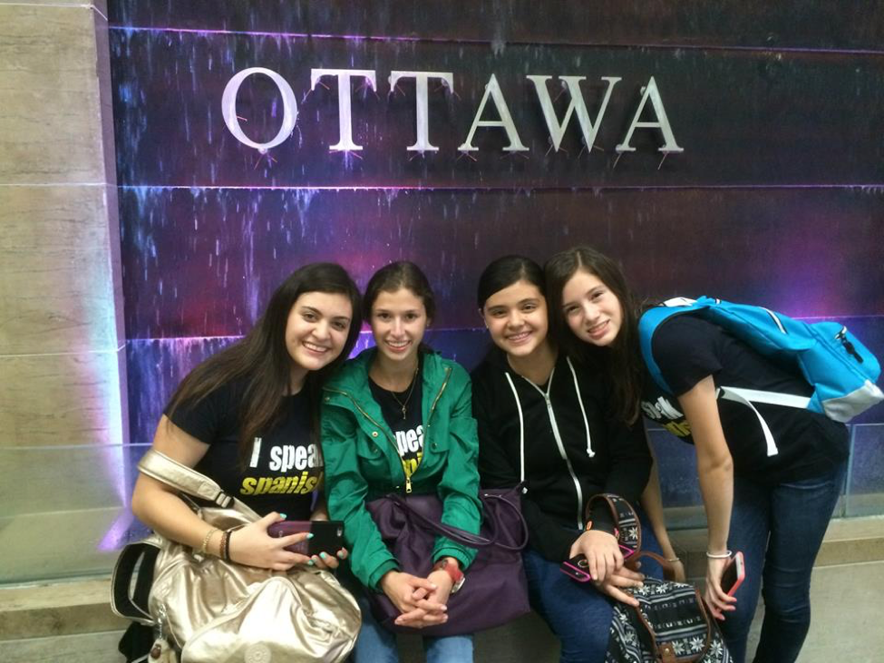 Destination Canada summer English students in Ottawa