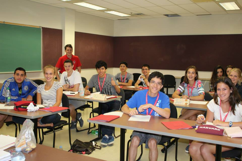 Campers learn to take their English language skills to the next level
